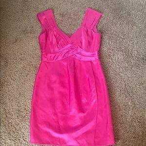 Nanette Lapore bright pink dress